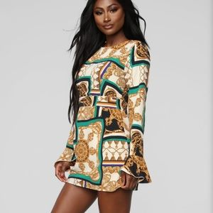 NWOT Fashion Nova Take Me Downtown Dress